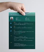 QCH010&nbsp创意通用简历模板