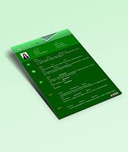 QCH012&nbsp创意通用简历模板