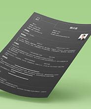 QNH064&nbsp常规通用简历模板