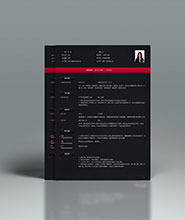 QCH018&nbsp创意通用简历模板