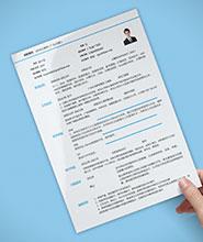QNH099常规通用简历模板