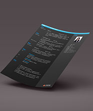 QCH028&nbsp创意通用简历模板