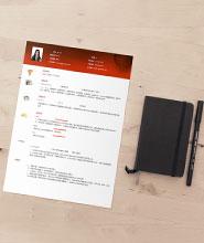 QCH008&nbsp创意通用简历模板